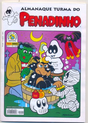 ALMANAQUE TURMA DO PENADINHO n°07 - EDITORA PANINI