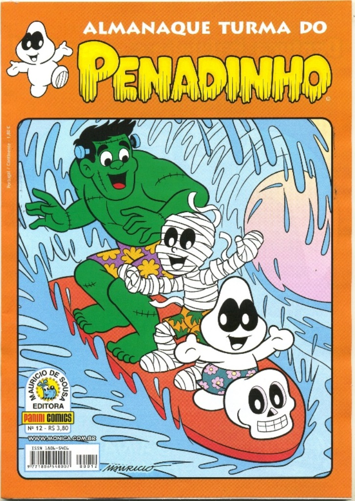ALMANAQUE TURMA DO PENADINHO n°12 - EDITORA PANINI