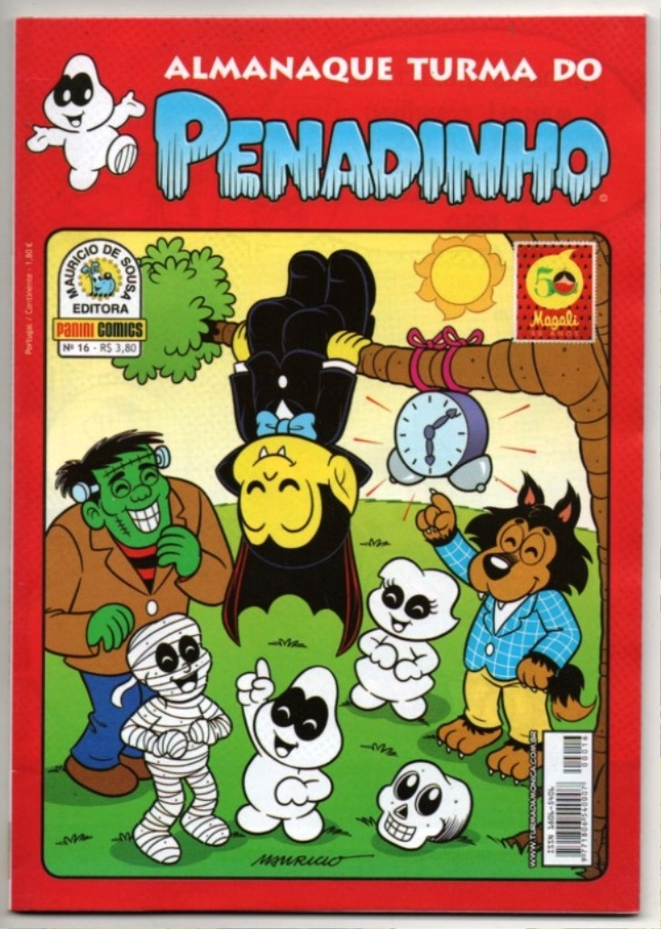 ALMANAQUE TURMA DO PENADINHO n°16 - EDITORA PANINI