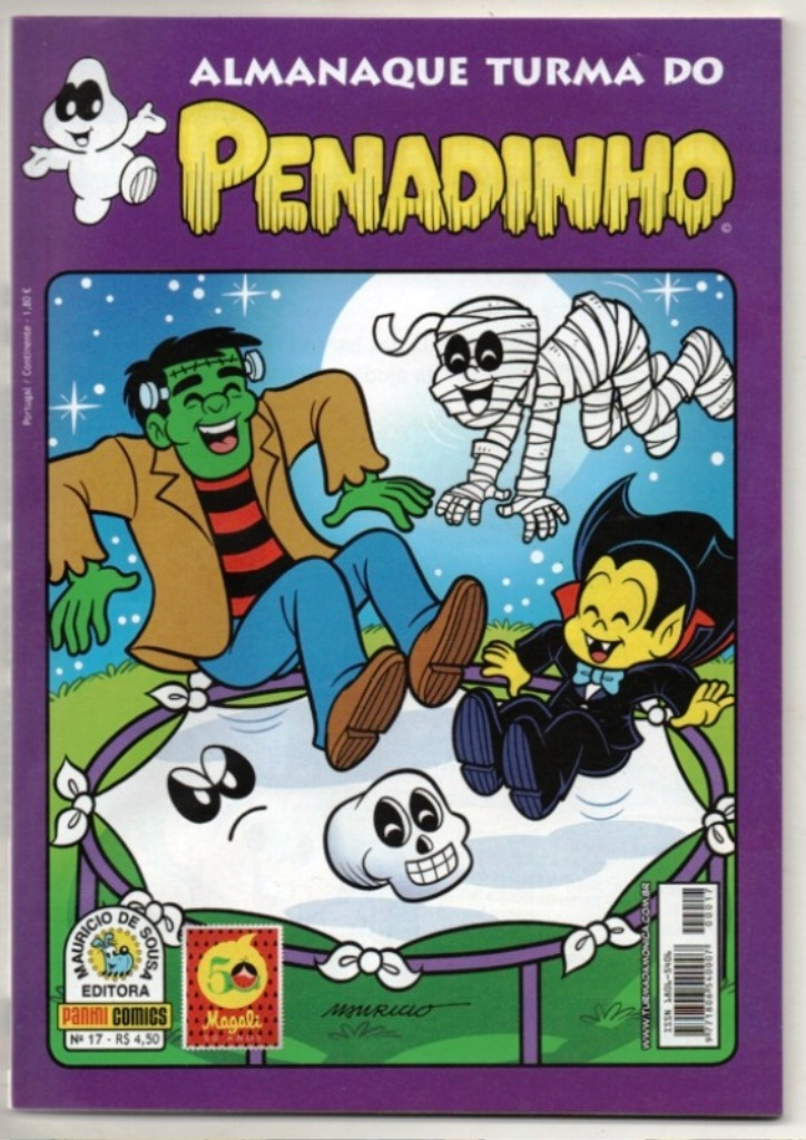 ALMANAQUE TURMA DO PENADINHO n°17 - EDITORA PANINI