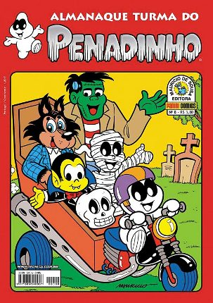 ALMANAQUE TURMA DO PENADINHO n°08 - EDITORA PANINI