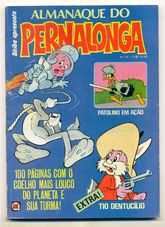 ALMANAQUE DO PERNALONGA nº14 - EDITORA RGE