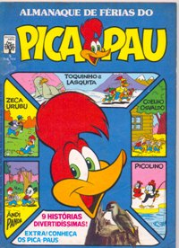 ALMANAQUE DO PICA-PAU nº05 - EDITORA ABRIL