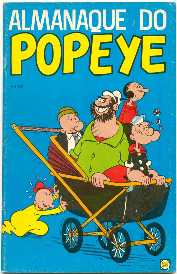 ALMANAQUE DO POPEYE 1974 - EDITORA RGE - 1974