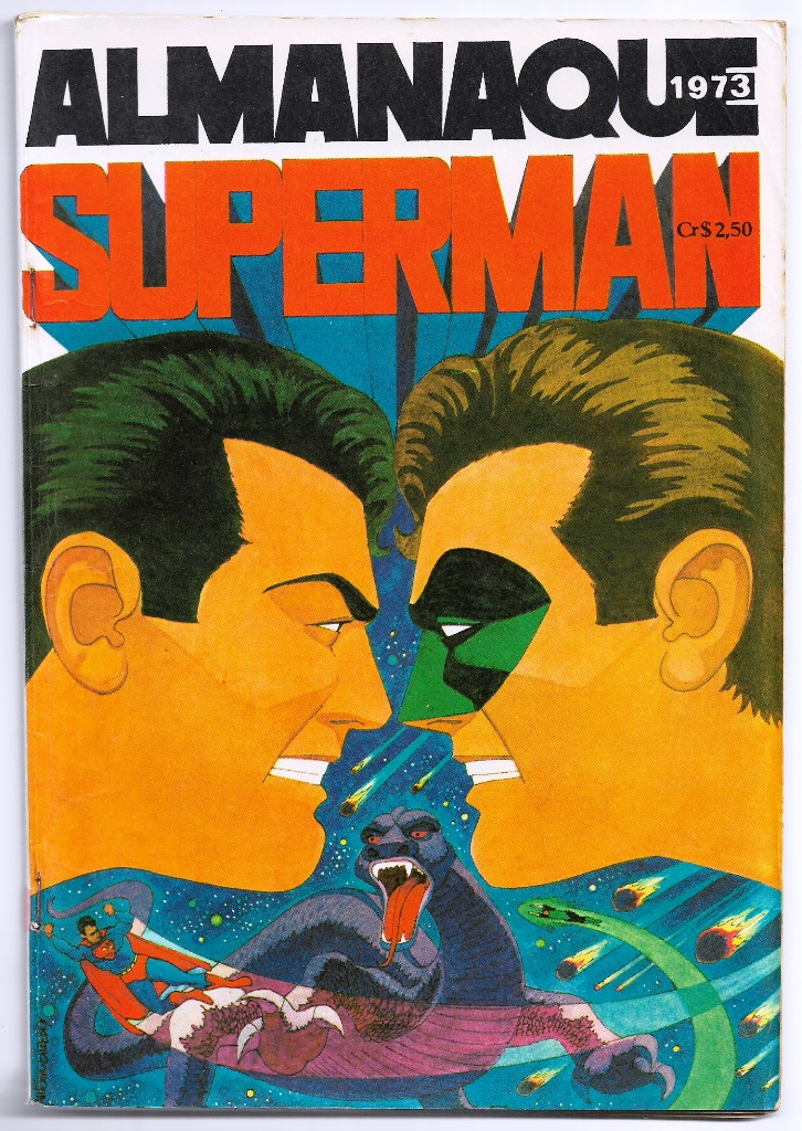 ALMANAQUE DO SUPERMAN DE 1973 - EBAL