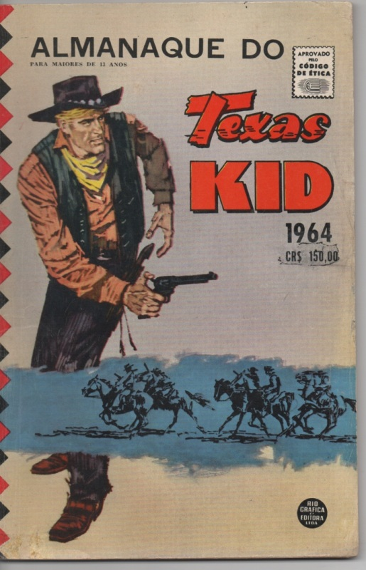 ALMANAQUE TEXAS KID DE 1964 - RGE