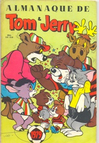 ALMANAQUE TOM & JERRY DE 1979 - EDITORA EBAL
