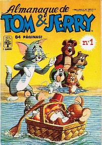 ALMANAQUE TOM & JERRY nº01 - EDITORA ABRIL