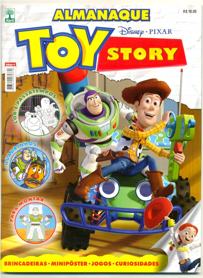 ALMANAQUE TOY STORY nº04 - ED. ABRIL