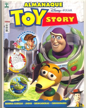 ALMANAQUE TOY STORY nº01 - ED. ABRIL