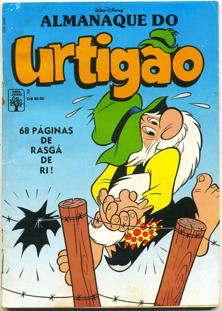 ALMANAQUE DO URTIGÃO nº02 - EDITORA ABRIL