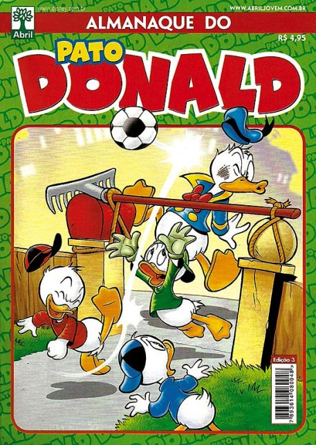 ALMANAQUE DO PATO DONALD - 2ª SÉRIE  nº03 - ED. ABRIL