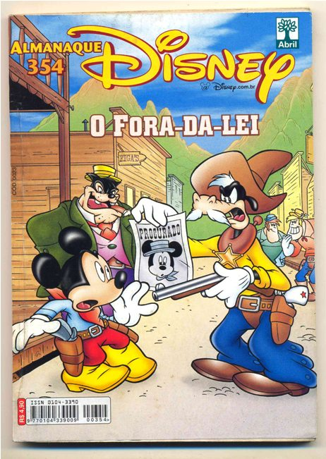 ALMANAQUE DISNEY nº354 - EDITORA ABRIL