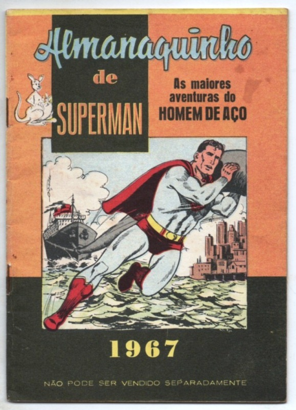 ALMANAQUINHO DO SUPERMAN DE 1967 - EDITORA EBAL