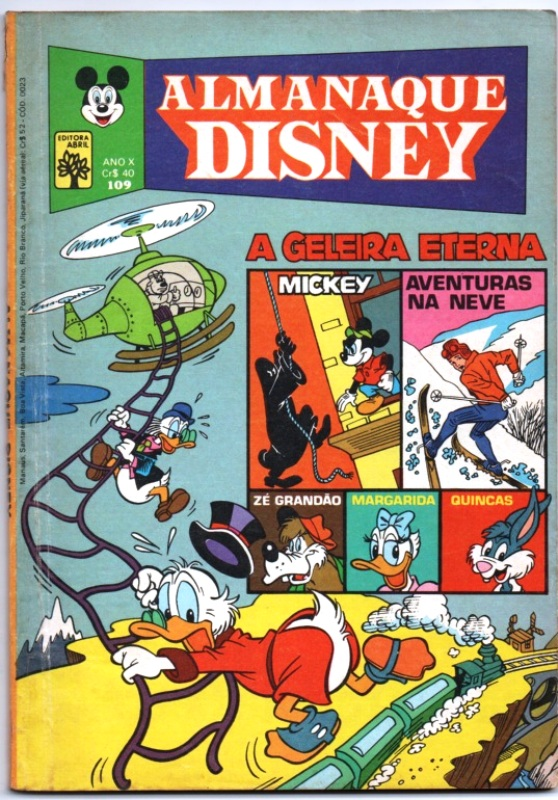ALMANAQUE DISNEY nº109 - EDITORA ABRIL