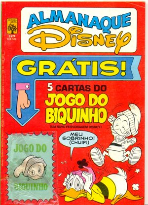 ALMANAQUE DISNEY nº129 - EDITORA ABRIL