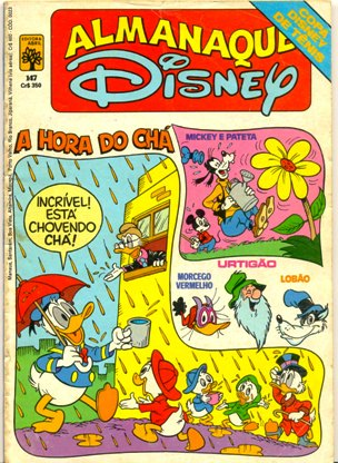 ALMANAQUE DISNEY nº147 - EDITORA ABRIL