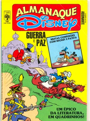 ALMANAQUE DISNEY nº195 - EDITORA ABRIL