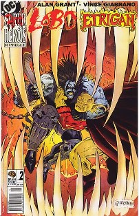ANTI-HERÓIS DO UNIVERSO DC nº02 - LOBO E ETRIGAN - BRAIN STORE