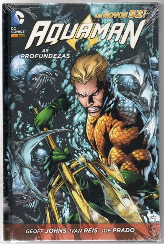 AQUAMAN - AS PROFUNDEZAS - PANINI