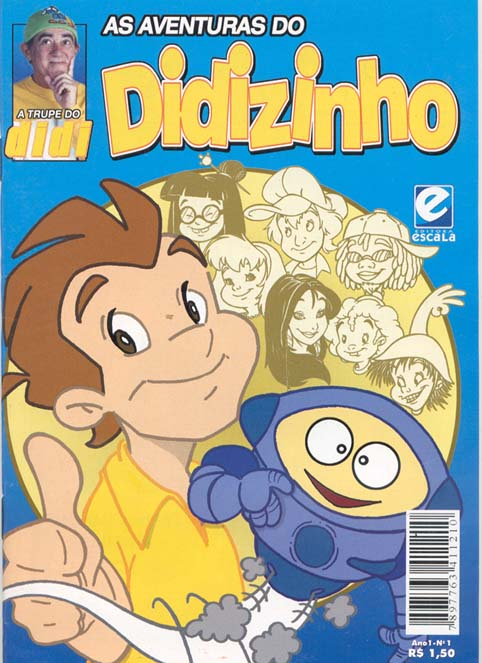 AS AVENTURAS DO DIDIZINHO nº01 - EDITORA ESCALA