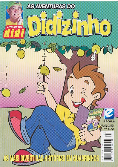 AS AVENTURAS DO DIDIZINHO nº02 - EDITORA ESCALA