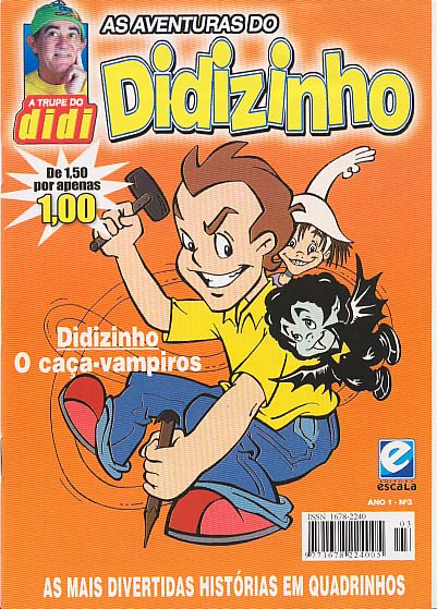 AS AVENTURAS DO DIDIZINHO nº03 - EDITORA ESCALA