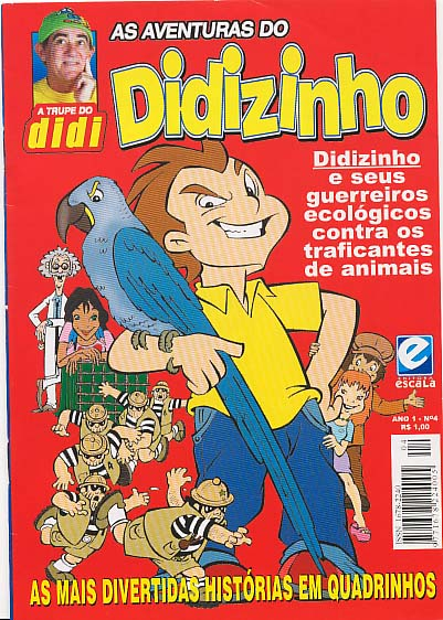 AS AVENTURAS DO DIDIZINHO nº04 - EDITORA ESCALA