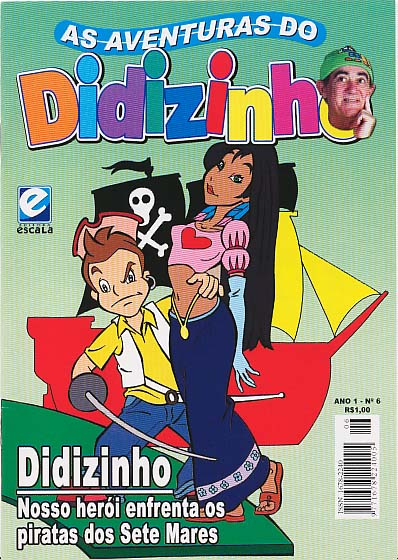 AS AVENTURAS DO DIDIZINHO nº06 - EDITORA ESCALA