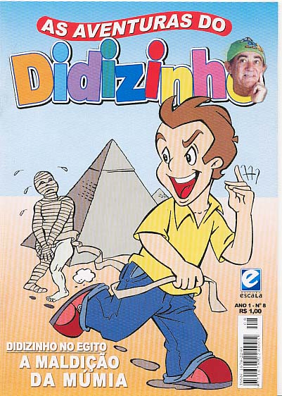 AS AVENTURAS DO DIDIZINHO nº08 - EDITORA ESCALA