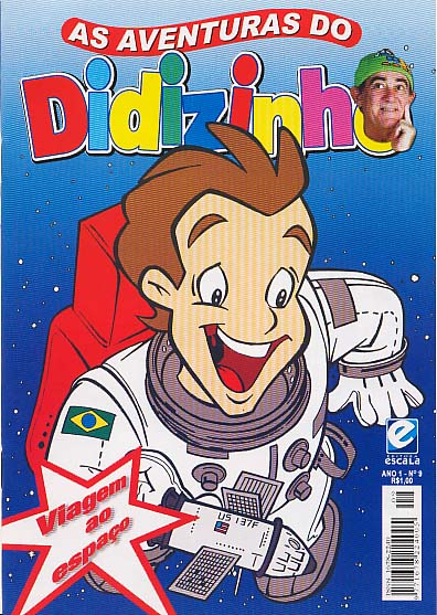 AS AVENTURAS DO DIDIZINHO nº09 - EDITORA ESCALA