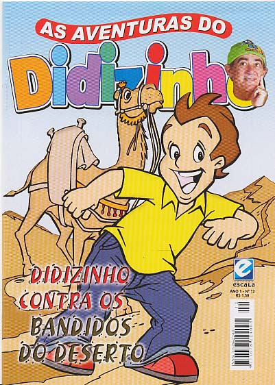 AS AVENTURAS DO DIDIZINHO nº12 - EDITORA ESCALA