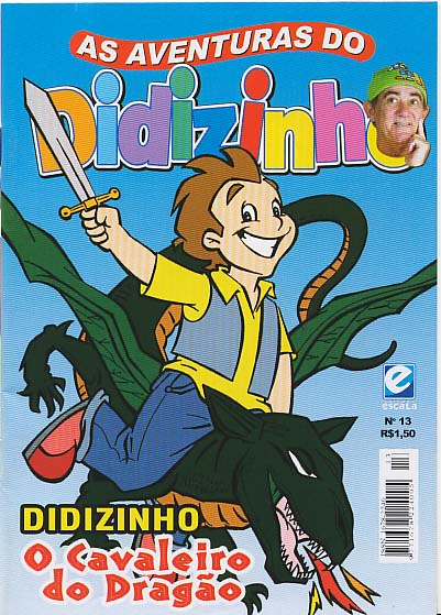 AS AVENTURAS DO DIDIZINHO nº13 - EDITORA ESCALA
