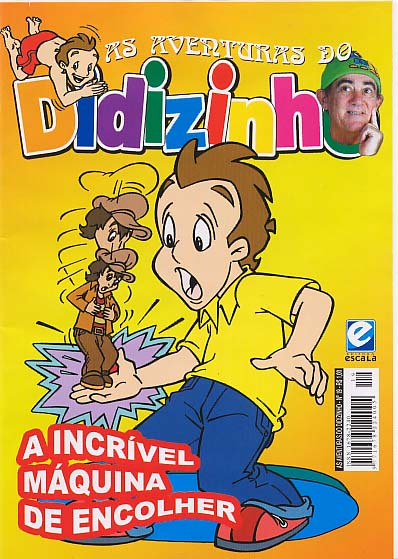 AS AVENTURAS DO DIDIZINHO nº19 - EDITORA ESCALA
