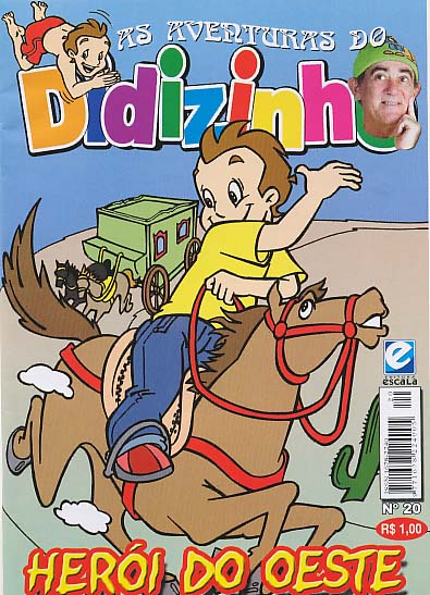AS AVENTURAS DO DIDIZINHO nº20 - EDITORA ESCALA