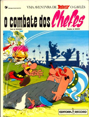 ASTERIX nº03 - O COMBATE DOS CHEFES - CAPA DURA - RECORD