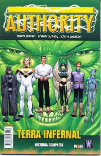 AUTHORITY - TERRA INFERNAL - EDITORA PIXEL