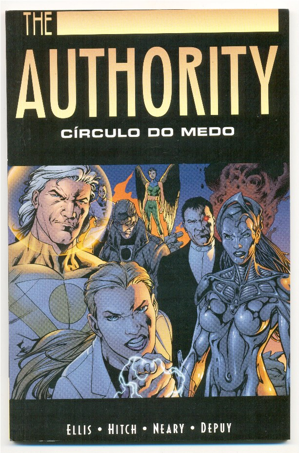 THE AUTHORITY - CÍRCULO DO MEDO - ENCADERNADO - PANDORA BOOKS