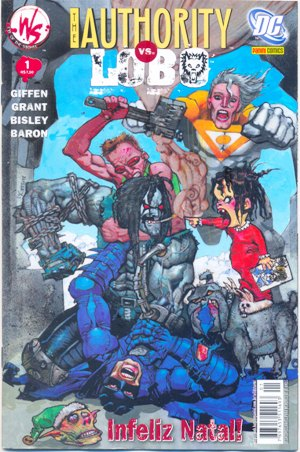 THE AUTHORITY vs LOBO - INFELIZ NATAL - ED. PANINI