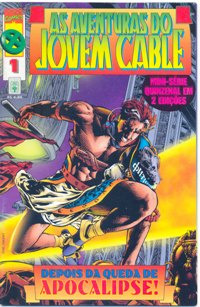 AS AVENTURAS DO JOVEM CABLE - PARTE I - ED. ABRIL