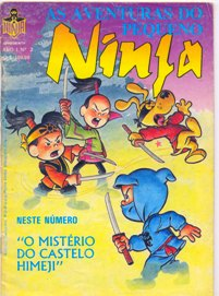 AS AVENTURAS DO PEQUENO NINJA  nº02 - ED. NINJA