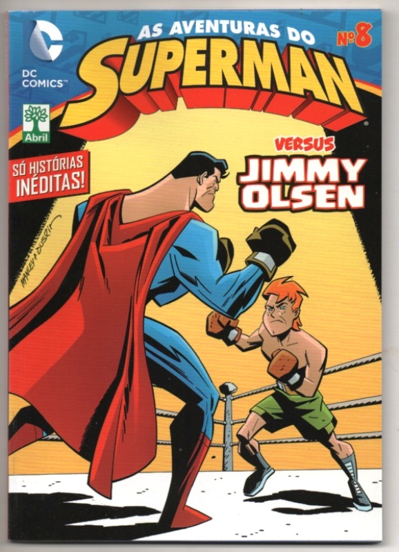 AS AVENTURAS DO SUPERMAN nº08 - EDITORA ABRIL