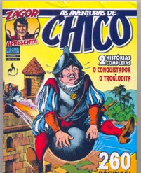 AS AVENTURAS DE CHICO nº01 - EDITORA MYTHOS