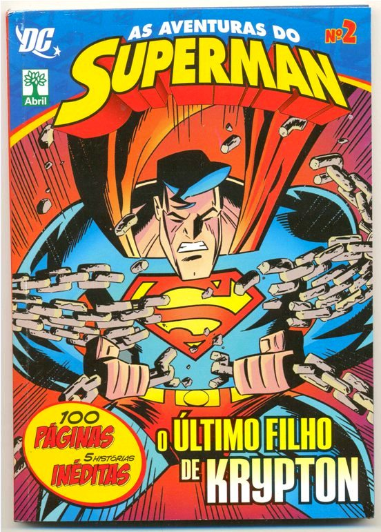 AS AVENTURAS DO SUPERMAN nº02 - EDITORA ABRIL