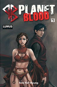 PLANET BLOOD nº001 - EDITORA LUMUS