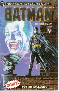 BATMAN - ADAPTAÇÃO DO FILME - 1989 - ED. ABRIL