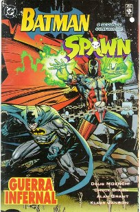 SPAWN E BATMAN - SEGUNDO ENCONTRO - ED. ABRIL