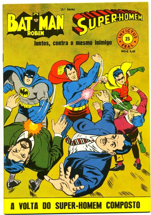 INVICTUS nº25 (BATMAN E SUPERMAN) - EBAL