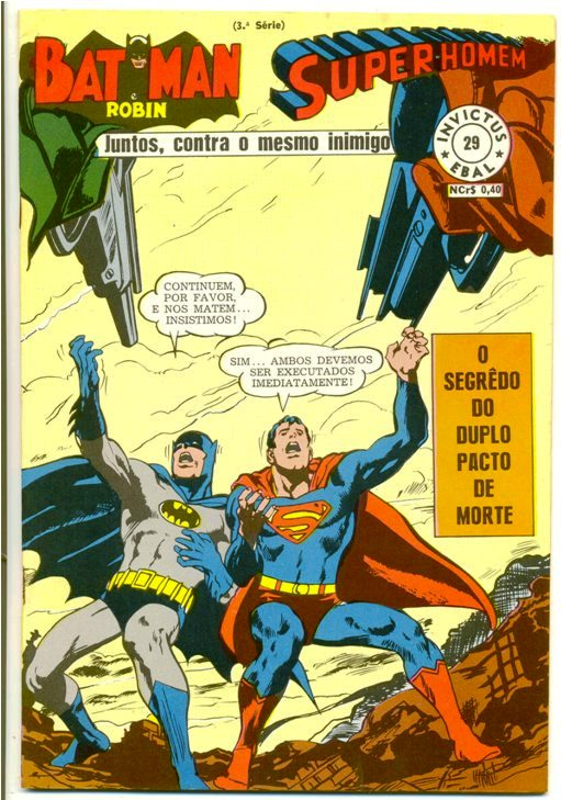 INVICTUS nº29 (BATMAN E SUPERMAN) - EBAL