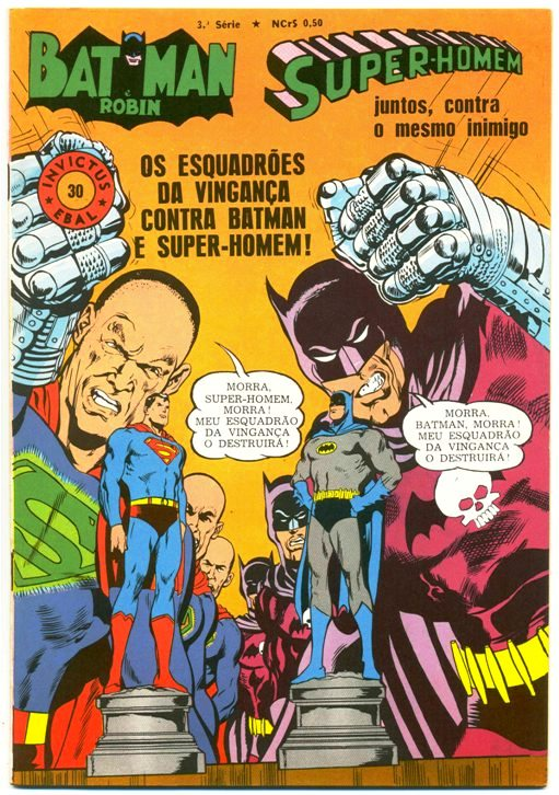 INVICTUS nº30 (BATMAN E SUPERMAN) - EBAL